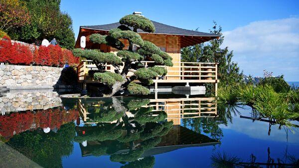 Открытие Японского сада на территории парка Айвазовское