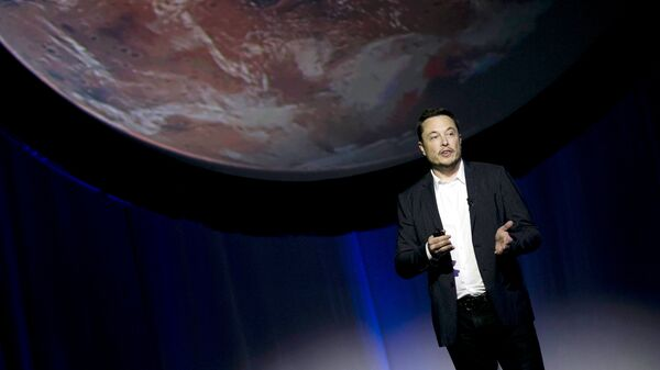Глава SpaceX Илон Маск рассказывает о планах по колонизации Марса