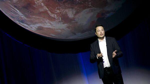 Глава SpaceX Илон Маск