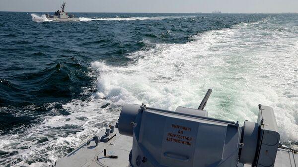 Украинские военно-морские корабли. 25 ноября 2018