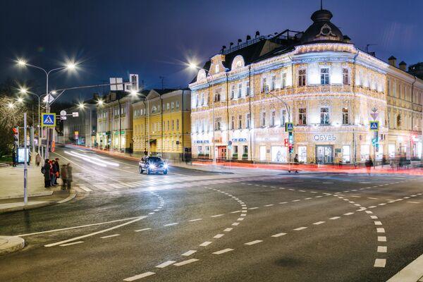 Наружное освещение Москвы