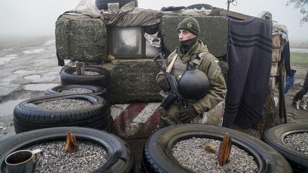 Солдат Нацгвардии Украины