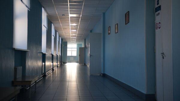 Коридор в школе