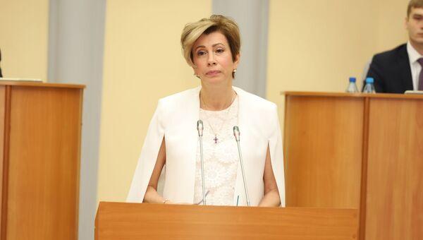 Уполномоченный по правам человека в Республике Хакасия Марина Сивирина