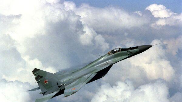 Истребитель МИГ-29. Архив