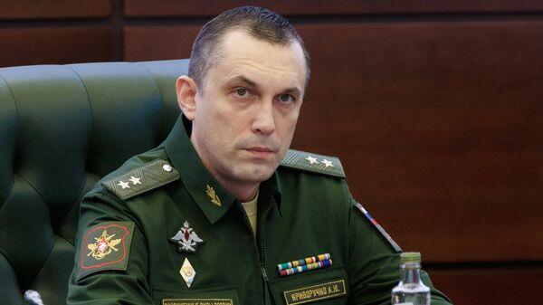 Заместитель министра обороны РФ Алексей Криворучко