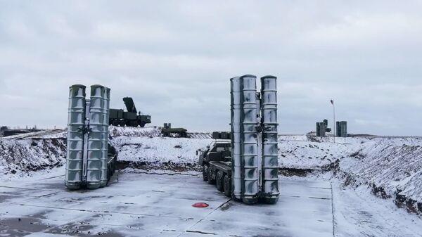 Зенитные ракетные комплексы С-400 Триумф в Крыму