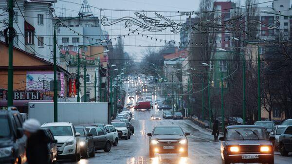 Улица Фрунзе в Липецке
