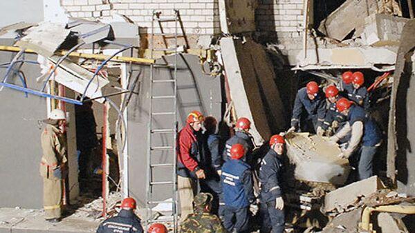 Подача электричества в доме в Хабаровске после взрыва восстановлена