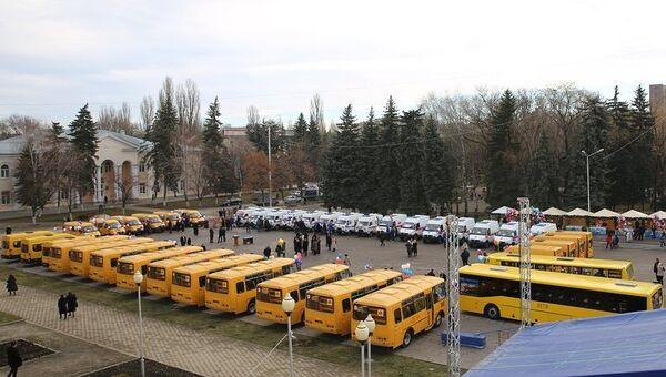 Автопарк школ Карачаево-Черкессии