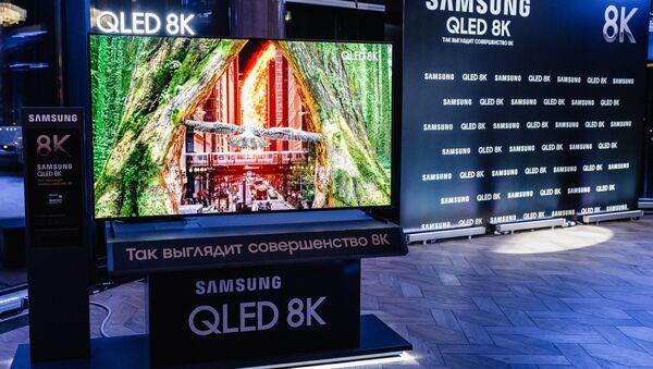 29 ноября в Москве состоялась премьера нового телевизора Samsung QLED 8K