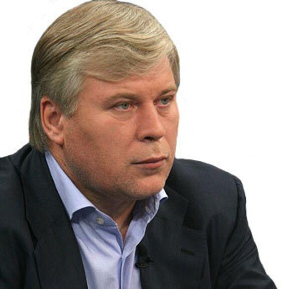 Член Общественной палаты РФ Анатолий Кучерена. Архив