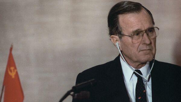 Президент США Джордж Буш. Архивное фото