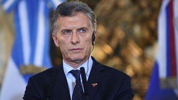 Президент Аргентины Маурисио Макри