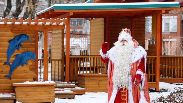 Всероссийский Дед Мороз посетил Социальный приют для детей и подростков Гаврош в Казани. 2 декабря 2018