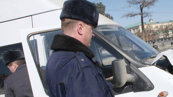 Авария с участием маршрутного такси