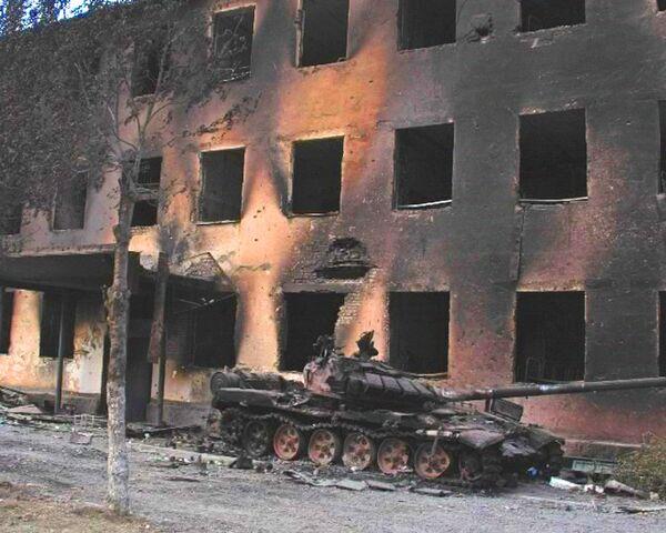 Цхинвали: пятидневная война глазами фотокорров РИА Новости