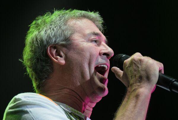 Вокалист Deep Purple Иэн Гиллан