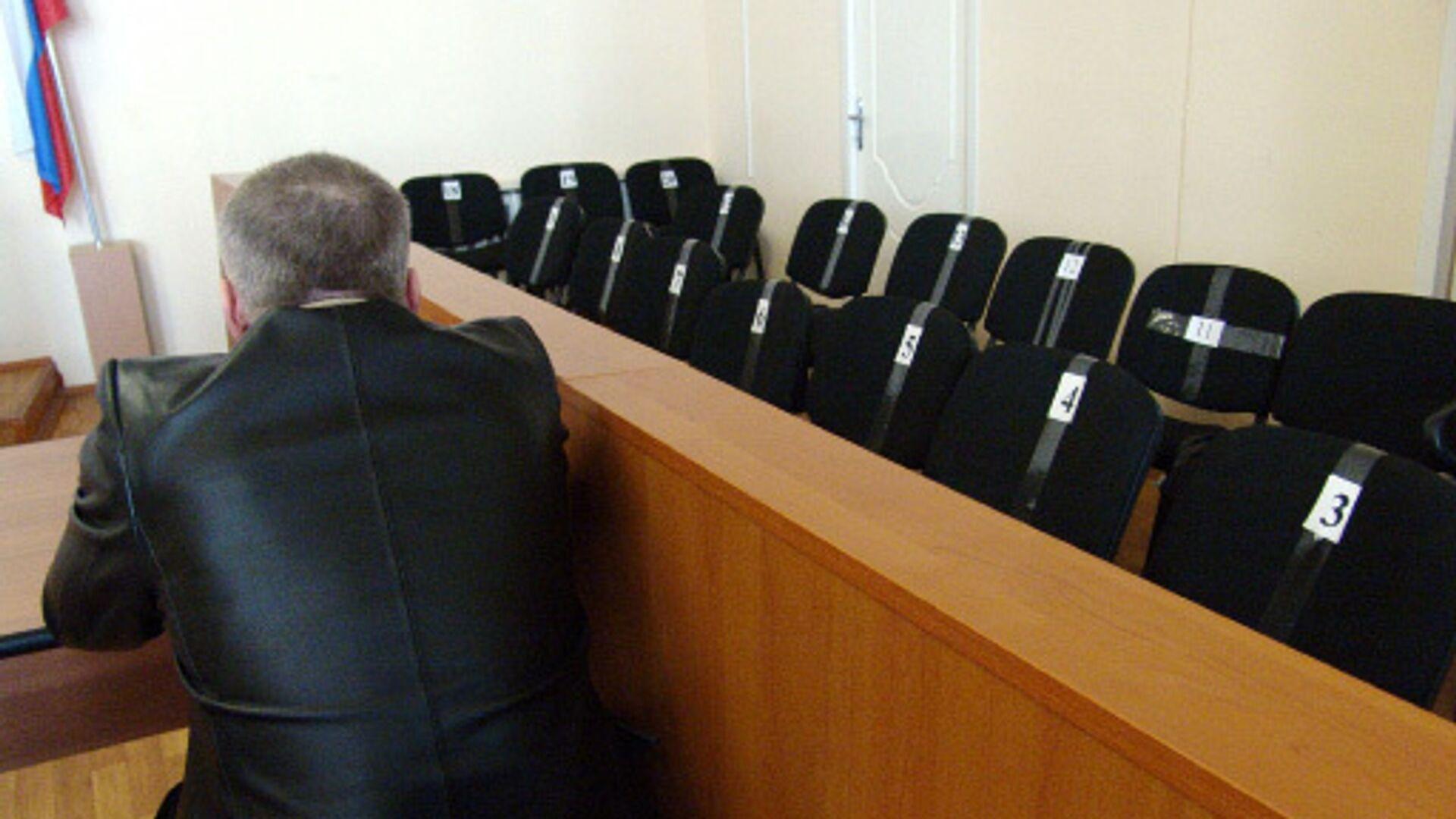 Места для присяжных заседателей - РИА Новости, 1920, 13.05.2021