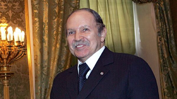 Президент Алжира Абдельазиз Бутефлика. Архив