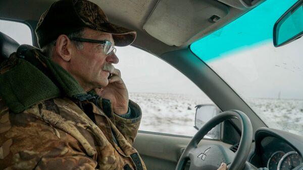 Геннадий Шадрин, один из двух охотников, которые нашли ребят, заблудившихся возле поселка Бабичево, Пермского края
