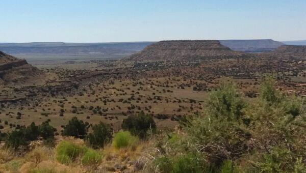 Одна из урановых шахт в штате Нью-Мексико, вызывающая проблемы со здоровьем у местных индейцев