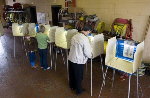 Голосование в штате Северная Каролина