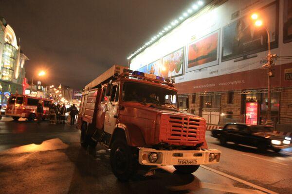 Пожар в здании на территории МАИ ликвидирован, пострадавших нет - МЧС