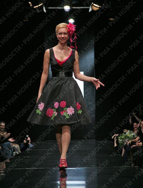 Показы новых модных коллекций на Российской Неделе моды