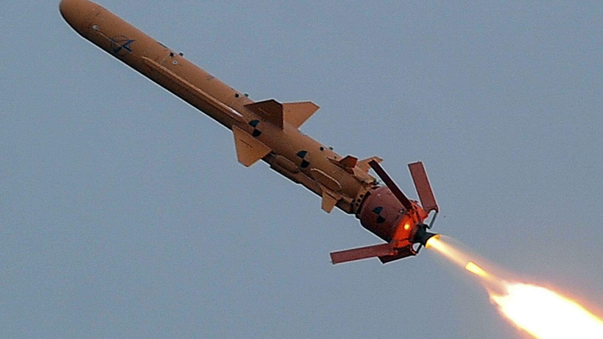Испытание ракетного комплекса С-125 на полигоне в Одесской области - РИА Новости, 1920, 29.12.2020