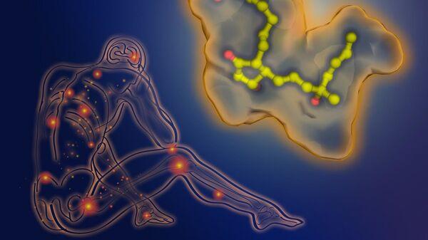 Так художник представил себе рецептор и молекулу мизопростола