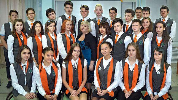 Ученики Лицея №6 в Красноярске