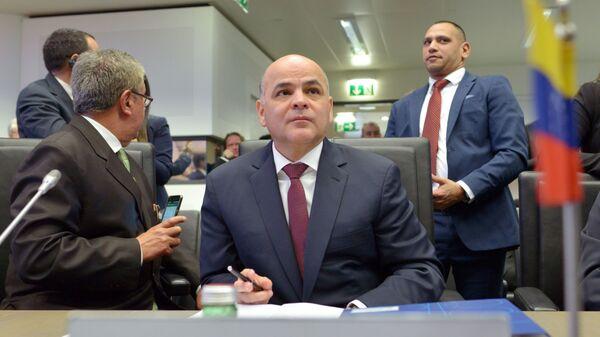 Министр нефти Венесуэлы Мануэль Кеведо