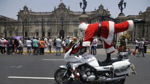Новогоднее представление в Перу