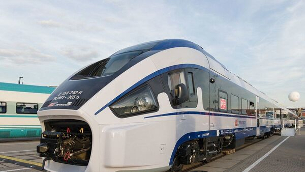 Поезд Польского концерна PESA