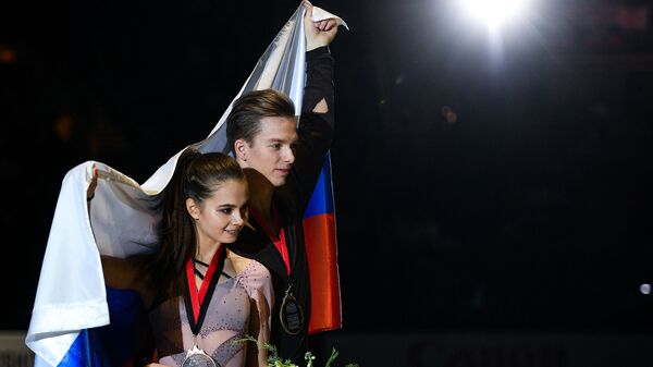 Софья Шевченко и Игорь Еременко
