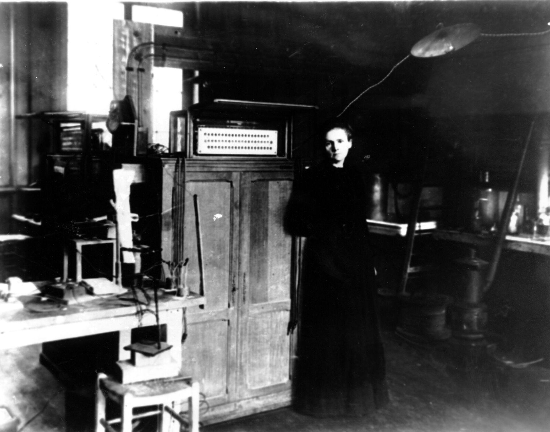 Мария Кюри - РИА Новости, 1920, 20.10.2020