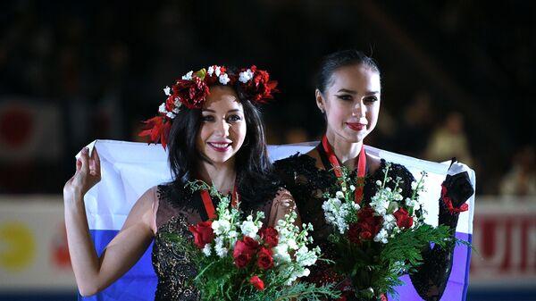 Алина Загитова и Елизавета Туктамышева