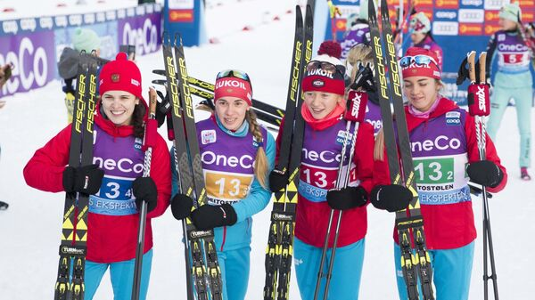 Женская сборная России по лыжным гонкам