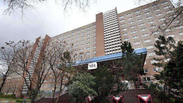 Здание бывшей штаб-квартиры отдела внешней разведки министерства госбезопасности бывшего ГДР в Берлине