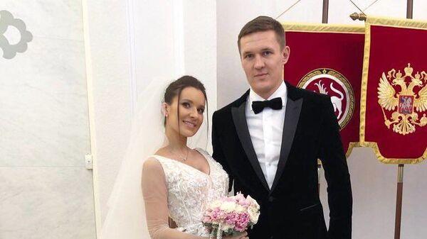 Александр Бухаров с женой Оксаной