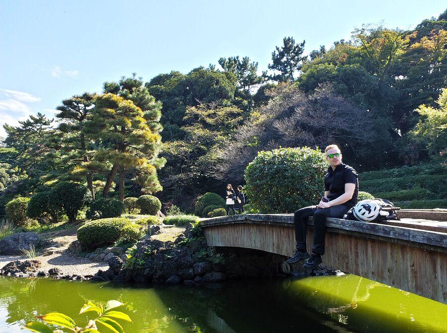 Центральный парк «Синдзюку» в Токио