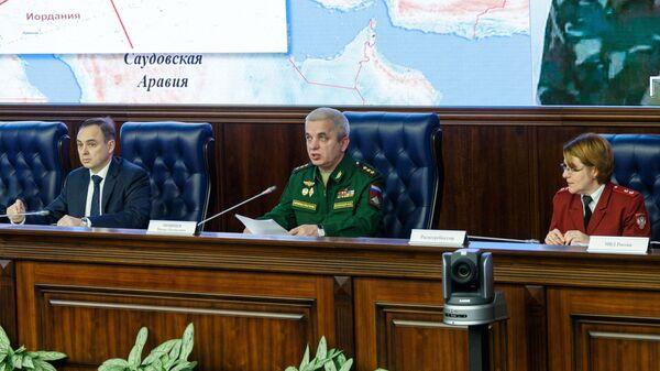 Начальник Национального центра управления обороной РФ Михаил Мизинцев