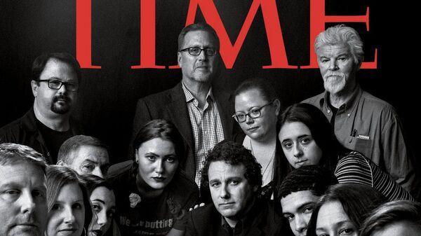 Обложка номера журнала TIME от 24 декабря 2018