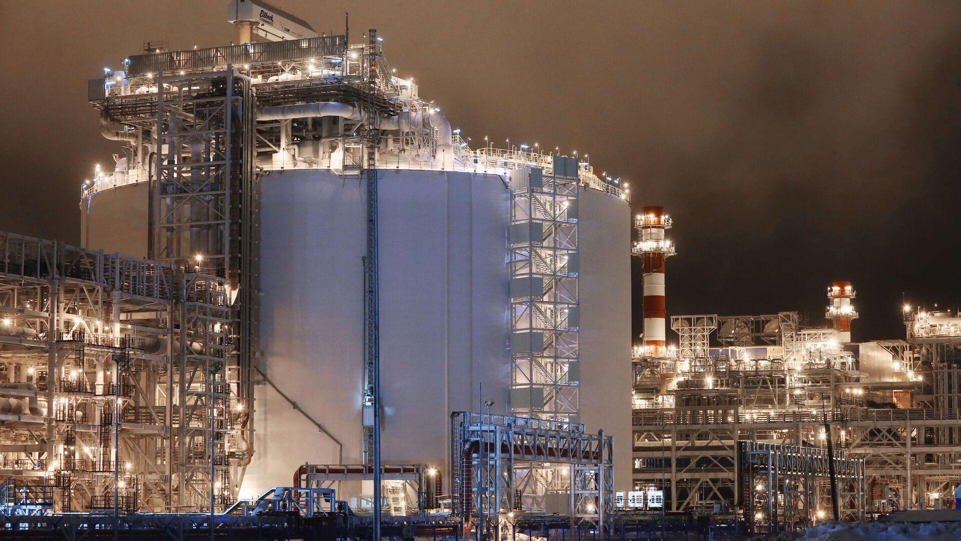 Завод по производству сжиженного природного газа Ямал СПГ - РИА Новости, 1920, 08.03.2021