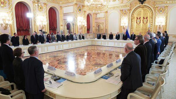 Заседание Совета по развитию гражданского общества и правам человека