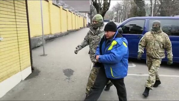 Задержание Шамиля Казбулатов, подозреваемого в нападении на Псковскую дивизию ВДВ. 12 декабря 2018