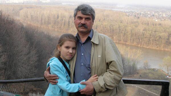 Регина Мухамадиева с папой, Шамилем Мавлитовичем Мухамадиевым