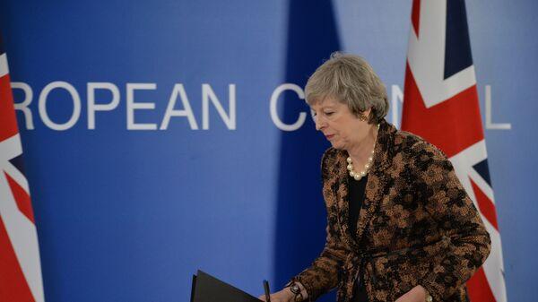 Brexit без разговора. Тереза Мэй покинула саммит ЕС, не прощаясь