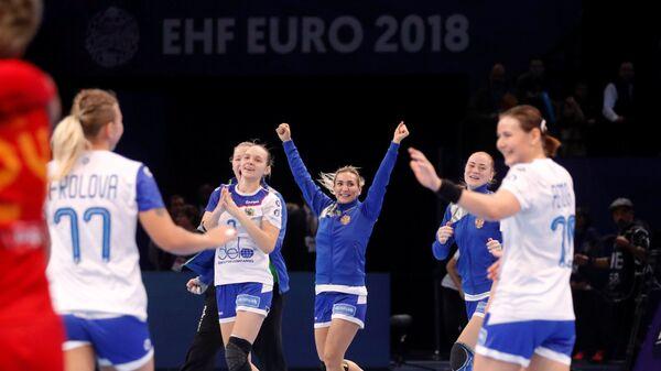 Русские гандболистки вышли вфинал чемпионата Европы
